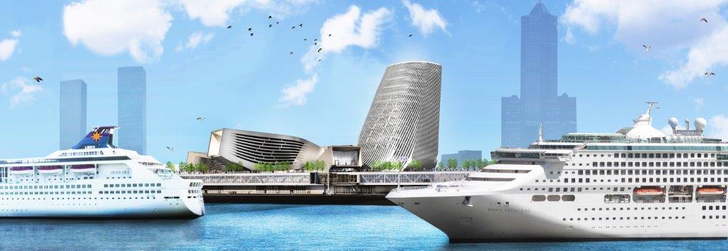 高雄港旅運中心配置圖